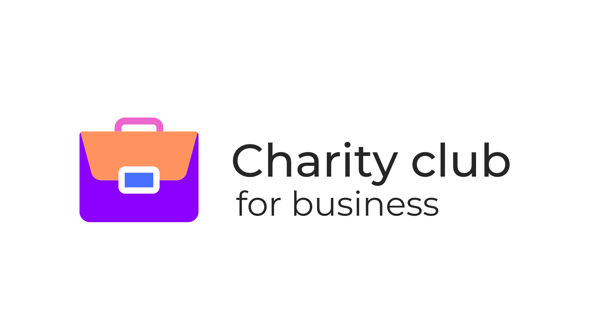 Charity for business