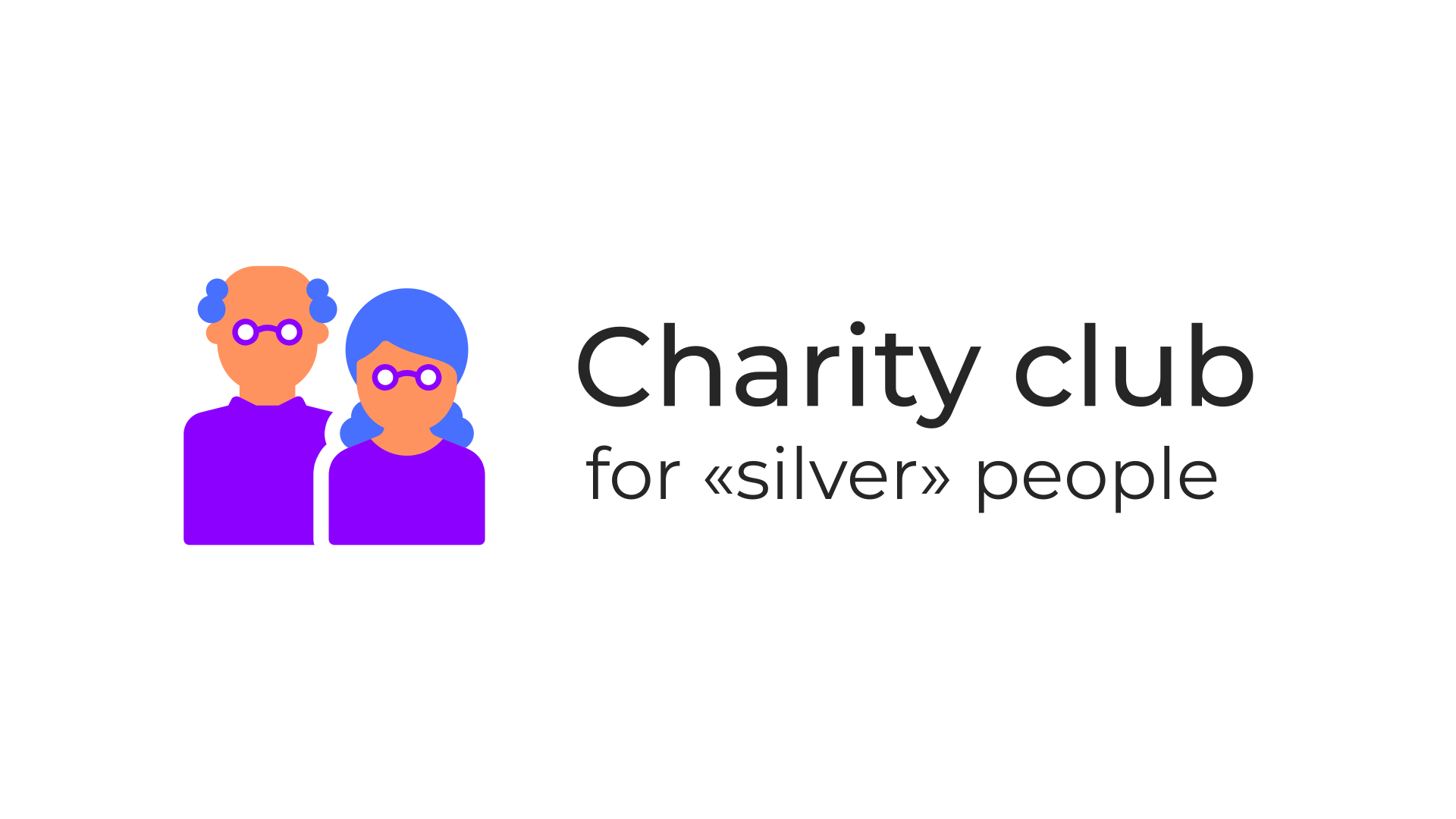 Charity for silver people